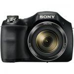 image produit Sony DSCH300 Appareil Photo Numérique Bridge, 20.1 Mpix Zoom Optique 35x Noir - livrable en France
