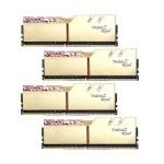 image produit DDR4 G.Skill Trident Z Royal Or - 128 Go (4 x 32 Go) 3200 MHz - CAS 16