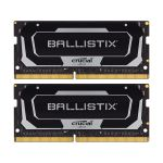 image produit Crucial Ballistix BL2K16G32C16S4B 3200 MHz, DDR4, DRAM, Mémoire Kit pour Ordinateurs Portables de Gamer, 32Go (16Go x2), CL16 - livrable en France