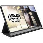 """image produit ASUS Zenscreen MB16ACM - Ecran PC portable mat 15.6"""" FHD - Télétravail ou gaming - Alimentation et affichage via USB-C ou USB-A - Dalle IPS mat - 1920x1080 - 220cd/m² -Flicker Free - livrable en France"""