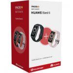image produit Montre connectée Huawei Pack Band 6 Noir + Band 6 Rose