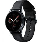 image produit Samsung - Montre Galaxy Watch Active 2 Bluetooth - Acier 40 mm - Noir Diamant - Version Française