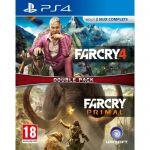 image produit Compil Far Cry 4 + Far Cry Primal Jeu PS4