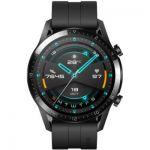 image produit HUAWEI Watch GT 2(46mm) Montre Connectée, Autonomie de 2 Semaine, GPS Intégré, 15 Modes de Sport, Suivi du Rythme Cardiaque en Temps Réel, Appels Bluetooth, Sport Noir