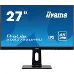 "image produit iiyama ProLite XUB2792UHSU-B1 Écran LED 27"" IPS 4K UHD VGA/DP/HDMI Hub USB Pied réglable en hauteur Multimédia Châssis Slim"