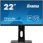 image produit iiyama Prolite XB2483HSU-B1 AMVA Écran LED Full HD (VGA, HDMI, DisplayPort, USB 2.0, Hauteur réglable, Pivot) réglable en Hauteur 22 Noir Full HD 1920 x 1080 - livrable en France