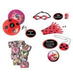image produit Bandai Lot Miraculous Ladybug - Téléphone Magique en français - déguisement + Pile Bouton alcaline Duracell spéciale LR44, 8 Piles - livrable en France