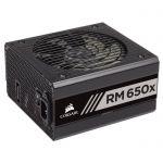 image produit Corsair RM650x Alimentation PC (Modulaire Complet, 650 Watt, 80 PLUS Gold) Noir - livrable en France