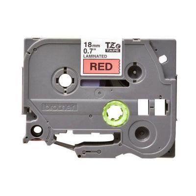 image Brother TZE441 Ruban 18 mm Noir sur Rouge