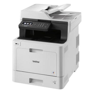 image Brother DCP-L8410CDW Imprimante Multifonction 3 en 1 Laser - Professionnel - Economique - Couleur - Compact mais Puissant - Récompensé par Bli - A4