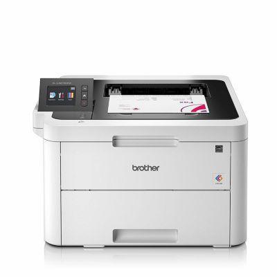 image Brother HL-L3270CDW Imprimante Laser - Couleur - Silencieuse 47db - Fonction NFC -256 Mo - 18ppm - Airprint & TN-247BK, Cartouche de Toner Original, Imprime jusqu'à 2 300 Pages, Noir