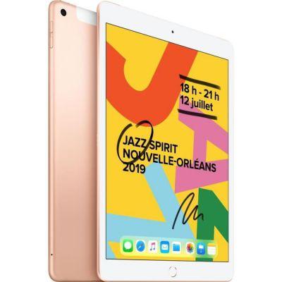 image Apple iPad (10,2 pouces, Wi-Fi + Cellular, 32 Go) - Or (Modèle Précédent)