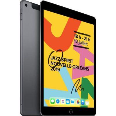 image Apple iPad 10,2 Pouces (2019) (Wi-FI + Cellular, 128Go) - Gris Sidéral