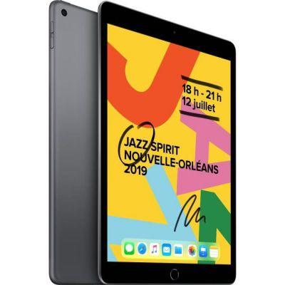image Apple iPad 10,2 Pouces (2019) (Wi-FI, 32Go) - Gris Sidéral