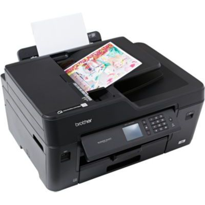 image BROTHER Imprimante multifonction 4 en 1 MFC-J6530DW - Jet d'encre - Couleur - USB 2.0, Wi-Fi, Ethernet - RJ45 Femelle - RectoVerso