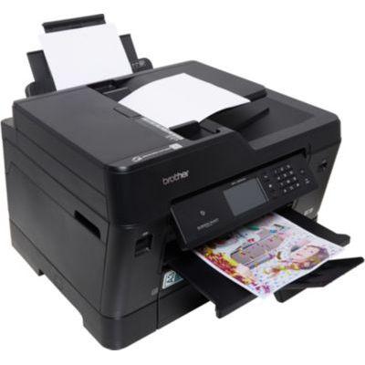 image BROTHER Imprimante multifonction 4 en 1 MFCJ6930DW - Jet d'encre - Couleur - USB 2.0, Ethernet, Wi-Fi, NFC - RectoVerso