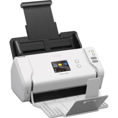 image Brother ADS-2700W Scanner bureautique à défilement | Ecran couleur tactile| Numérisation automatique | A4 | Recto-Verso | Wi-Fi/Wi-Fi Direct