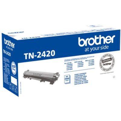 image Brother TN2420 - Cartouche Originale de Toner Noire - Autonomie de 3000 Pages - Pour Imprimante Laser Série L2000