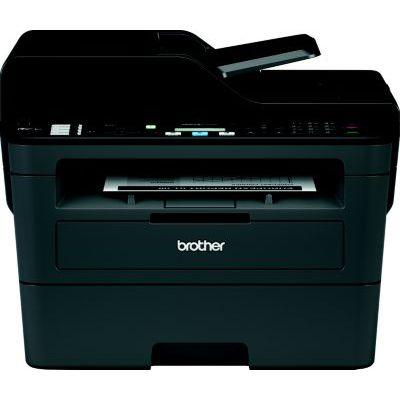 image Brother MFC-L2710DW Imprimante Multifonction 4 en 1 Laser - Monochrome - A4 - Impression Recto-verso, Numérisation, Copie, Télécopie - Airprint