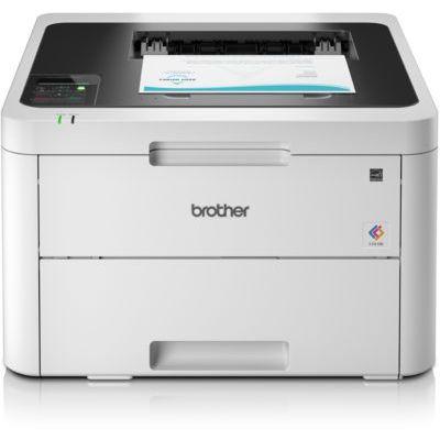 image Brother HL-L3230CDW Imprimante laser Couleur (WiFi, LED, USB 2.0, 256 Mo, 800 MHz, 18 ppm, 390 W) Blanc, A4