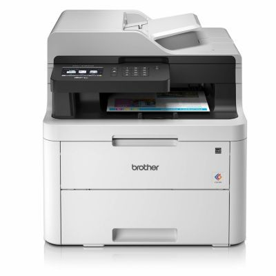 image Brother MFC-L3730CDN Imprimante Multifonctions 4 en 1 Laser | Couleur | Silencieuse 45db | Impression Recto-Verso | Ethernet