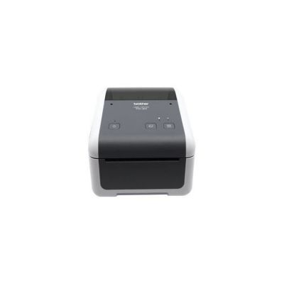 image Brother TD-4410D Imprimantes Professionnelles 4 Pouces pour Reçus et étiquettes | 203dpi | détection et Calibration Des médias | RS- 232C | USB