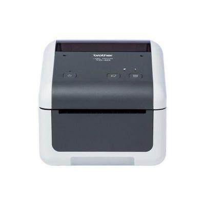 image Brother TD-4520DN Imprimantes Professionnelles 4 Pouces pour Reçus et étiquettes | 300dpi | détection et Calibration Des médias | RS- 232C - USB - Ethernet