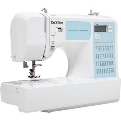 image BROTHER Machine à coudre électronique - FS40 - 40 points - 7 griffes - Blanc