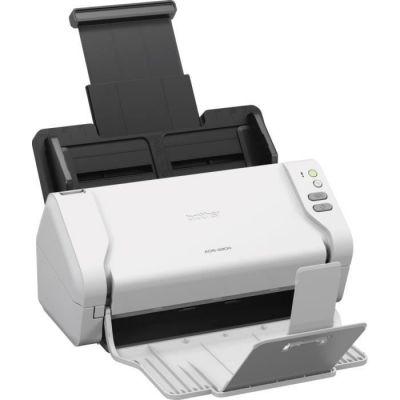 image Brother ADS-2200 Scanner Bureautique à Défilement - Couleur - A4 - Scan en une Seule Touche vers PC et Clé USB