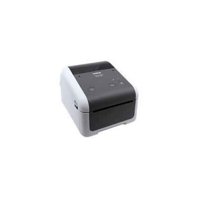 image Brother TD-4420DN Imprimantes Professionnelles 4 Pouces pour Reçus et étiquettes | 203dpi | détection et Calibration Des médias | RS- 232C - USB - Ethernet