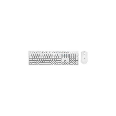 image produit Clavier et souris sans fil Dell - KM636 - français (AZERTY) - blanc