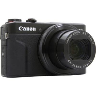 image Canon Powershot G7 X Mark II Appareil photo numérique compact Noir
