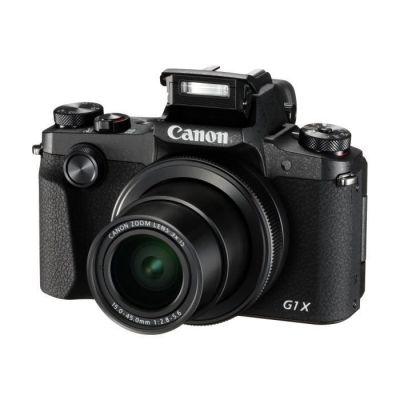 image Canon Powershot G1X Mark III Appareil Photo Compact Hybride 24.2 Mpix Noir