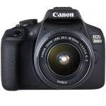 image produit Canon EOS 2000D Reflex Numérique + EFS 1855 mm F/3.55.6 IS II