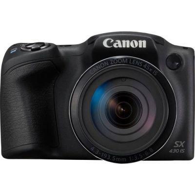 image produit Canon Powershot SX430 IS Appareil Photo Bridge Noir - livrable en France