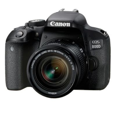image Camera DSLR EOS 800D KIT/18-55 is STM 1895C008AA CANON