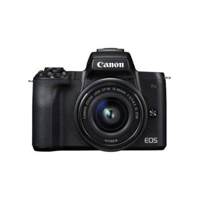 image Canon EOS M50 Appareil Photo Hybride + EFM 1545 mm F/3.56.3 STM Noir
