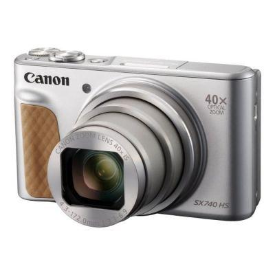 image Canon - Powershot SX740 - Appareil Photo Numérique Compact - Argent & 9839B001 Batterie pour Canon PowerShot G7X Gris