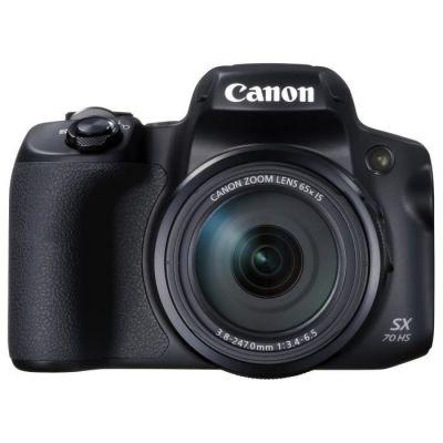 image Canon Powershot SX70 Appareil Photo Numérique Bridge - Noir & 6786B001 Batterie pour EOS 100D et EOS M