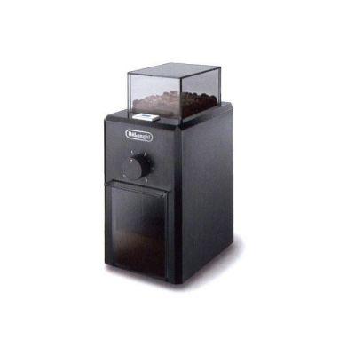 image De'Longhi KG79 Moulin à Café Electrique, Broyeur pour Grains de Café avec Réservoir d'une Capacité de 120 g, 110 W, Noir