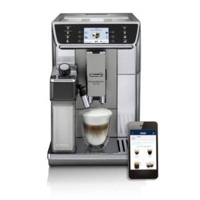 image DELONGHI ECAM 650.55.MS | Cafetière automatique PrimaDonna Elite, Argent