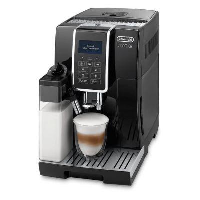 image De'Longhi Dinamica, Machine expresso avec broyeur, technologie exclusive boissons lactées, ECAM350.55.B, Noir