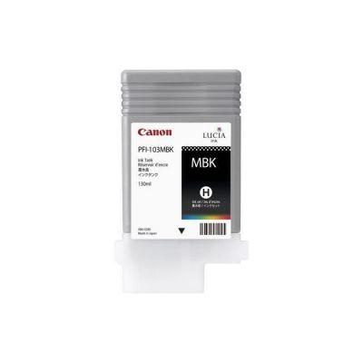 image Canon PFI-103MBK Cartouche d'encre, Noir Mat pour imprimante iPF 5100/iPF6100/iPF6200