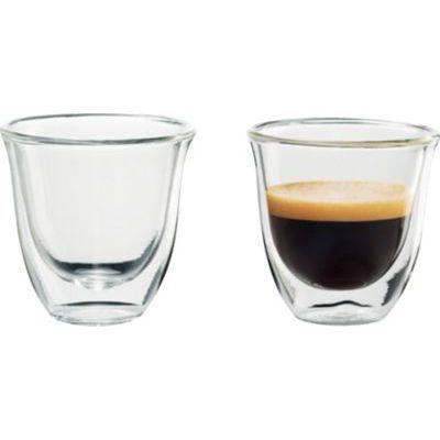 image Delonghi 5513214591 - Pack de 2 Verres a espresso isole