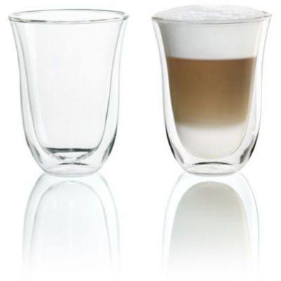 image Delonghi 5513214611 Pack de 2 Verre à café latte isolé