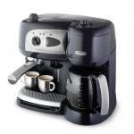 image produit De'Longhi Machine à Café à Pompe et Cafetière Filtre 2-en-1, Machine Expresso BCO260CD.1, Noir