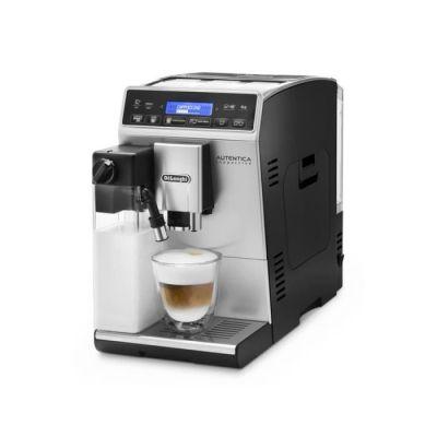image De'Longhi Autentica Machine expresso avec broyeur, technologie exclusive boissons lactées ETAM29.660.SB, Argent et Noir