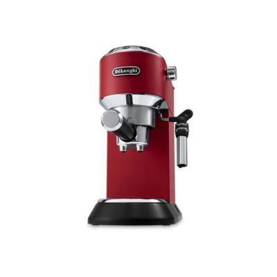 image De'Longhi Dedica Style, Machine expresso pour préparer des boissons café et lactées, EC685R, Rouge