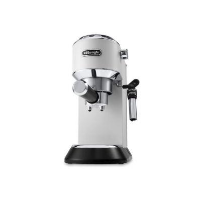image De'Longhi Dedica Style, Machine expresso pour préparer des boissons café et lactées, EC685W, Blanc