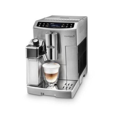 image Delonghi ECAM55.510.M PrimaDonna Rystiling Machine à Café avec Broyeur, 1450 W, Métal